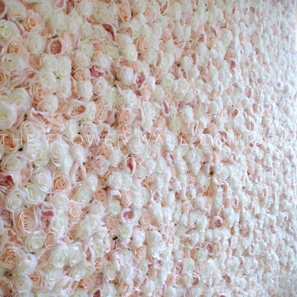 blush flower wall cheap hire rental sydney melbourne london flower wall new york pink