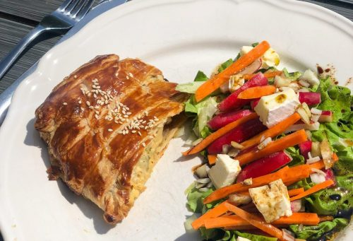 Tessa's Table Recipes: Chicken & Vegetable Pastry