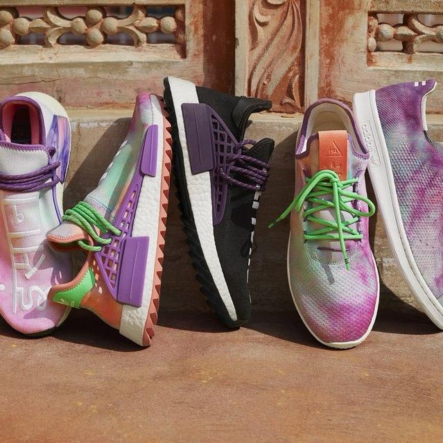 adidas Originals x Pharrell Williams 'Powder Dye' Pack