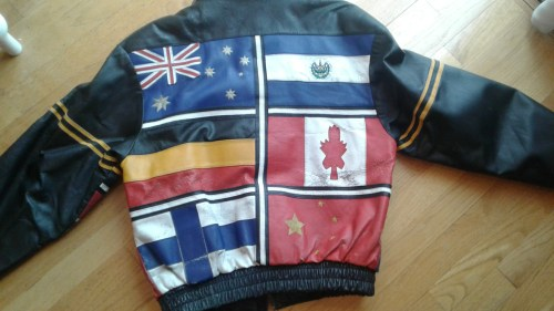 One of the reference images sent to The Jacket Maker by Fred in helping to recreate the jacket given to him by his parents.