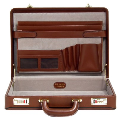 From its structure to style and detail, this is a good example of bygone briefcases still used today.