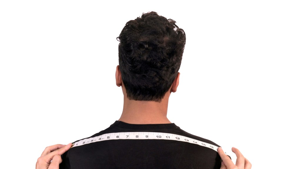 How To Measure Shoulders