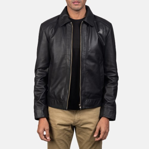 Inferno Black Leather Jacket