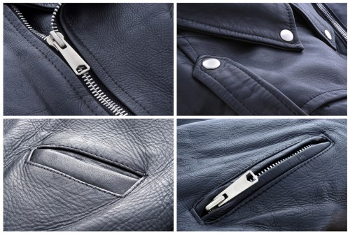 Leather Jacket Zippers