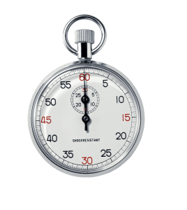 Stopwatch symbolising Takt Time