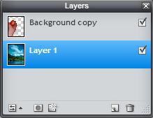 Pixlr Layers