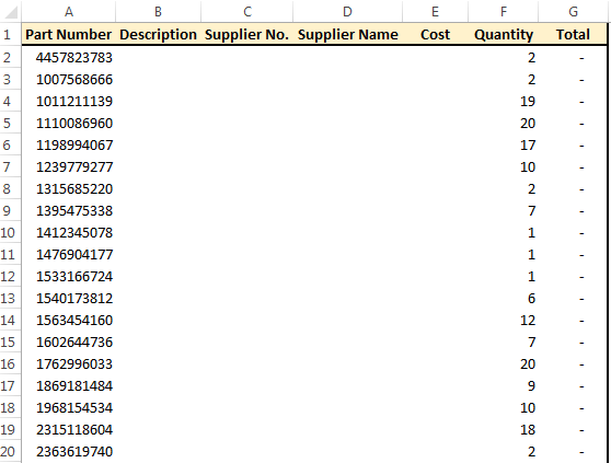 A Quicker Way To Create VLookUps Across Multiple Columns