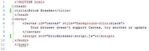 image of html file for canvas arrays post