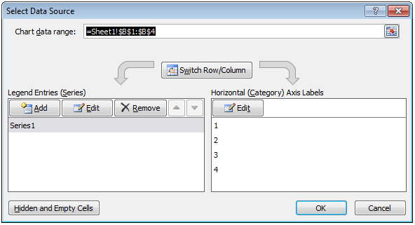 image showing how to add data series