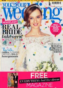 YOU&YOUR WEDDING MAY-JUN 2015 COVER