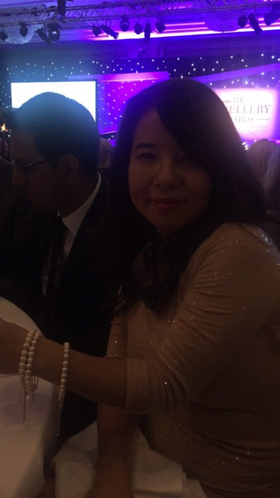 TJC at the UK Jewellery Awards 2016: Yi wearing Pearls2477943