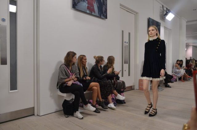 TJC in the FROW at London Fashion Weekend! - Very Velvet