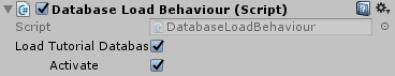 database-load-behaviour