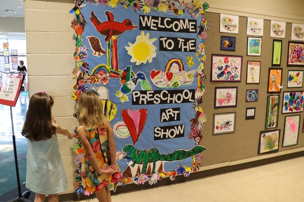 Preschool Art Show Lexington School Branching