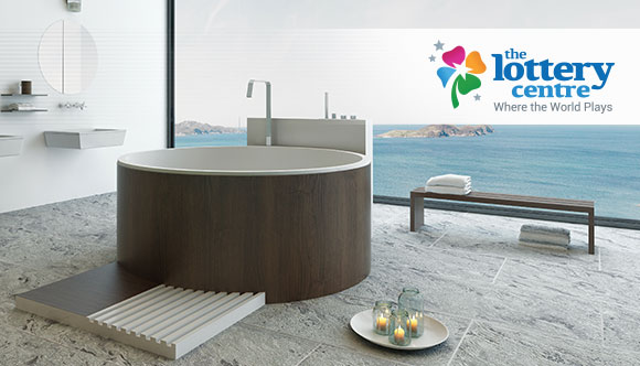 The Lottery Centre lives the Good Life with luxury bathtubs