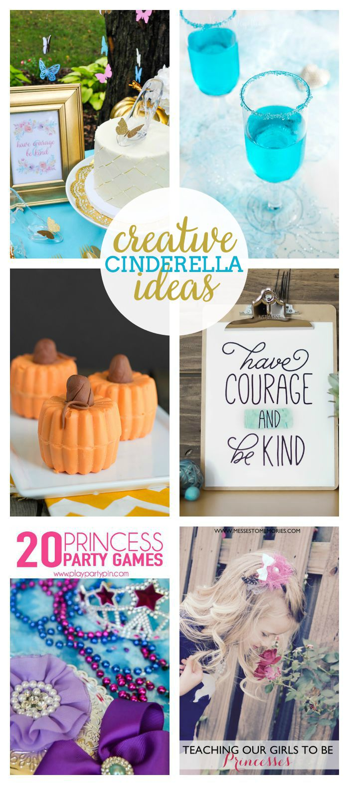 A Collection of Cinderella Ideas - From parties to recipes and printables, you won't want to miss these ideas!