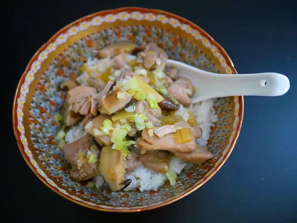 Golden Chicken Stew