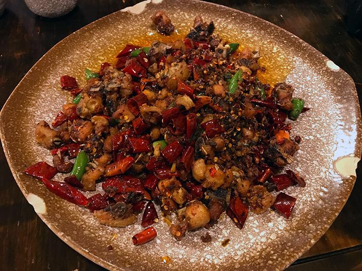 Chongqing chicken