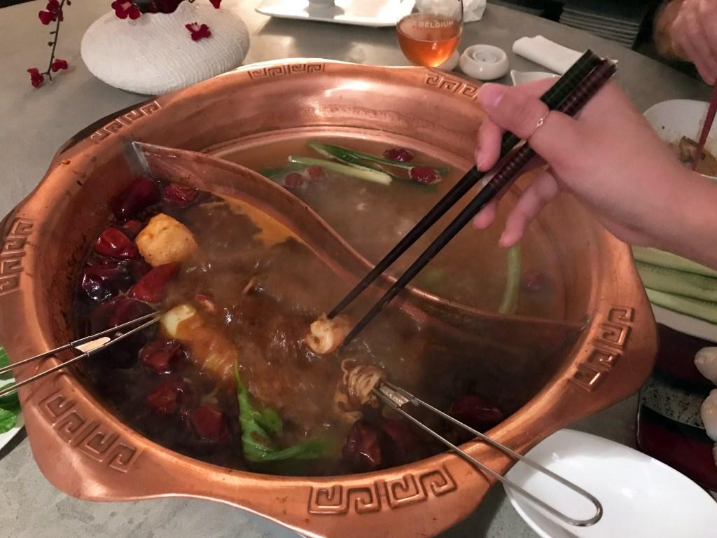 Sichuan mala hot pot at home (mala huo guo)