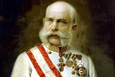 Franz Josef I - Emperor of Austria for 66 years. Don't believe it? Ask those sideburns. - Source: mentalfloss.com