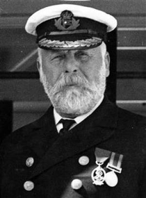 Captain Edward Smith, of the R.M.S. Titanic. - Source: pinterest.com
