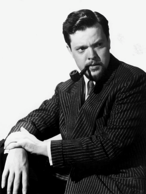 Orson Welles, influential writer, director and actor, famous for the art of radio acting. - Source: litreactor.com