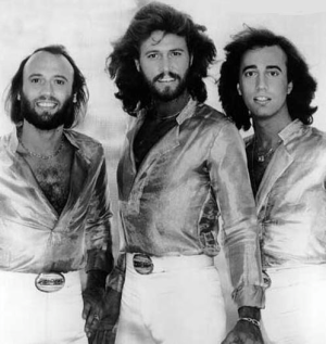 Maurice, Barry and Robin Gibb of The Bee Gees. Disco in the flesh. - Source: superseventies.tumblr.com