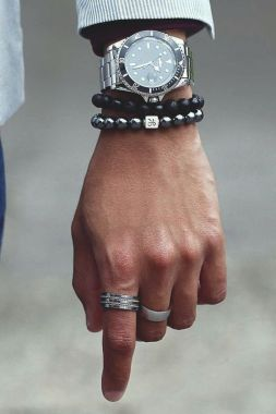 wrist accessories paired just right