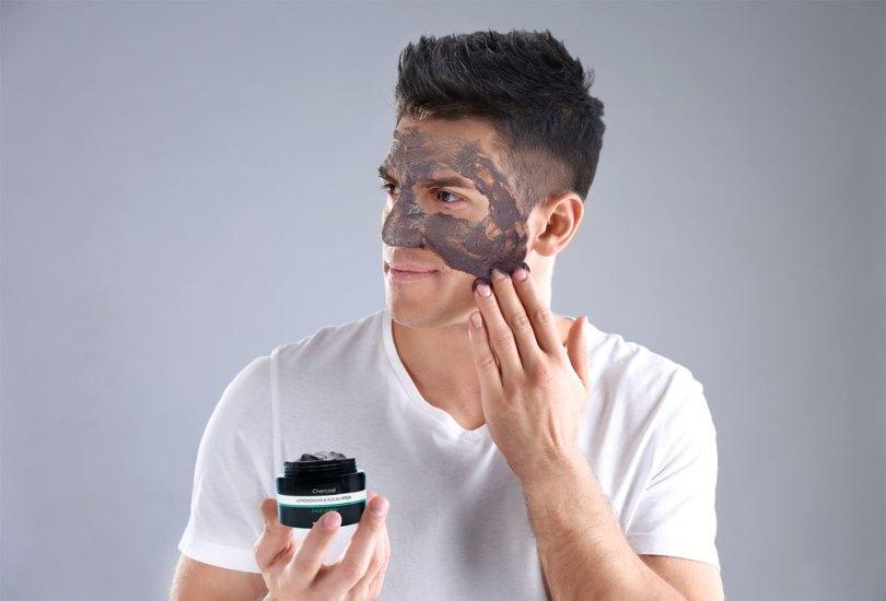 Remove Blackheads Charcoal Face Scrub