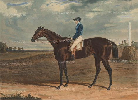 "Herring Jack Robinson on Cadland. 1828. A original colour antique aquatint. 18"" x 14"". [SPORTSp3288]"
