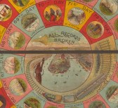 Close up of centre of the board game