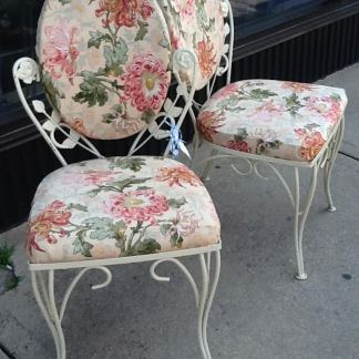 *SOLD Pair of Chairs NOW $43.45