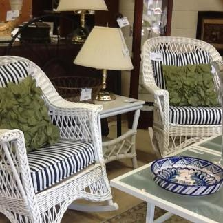 Wicker Rocking Chairs NOW $391.95 each