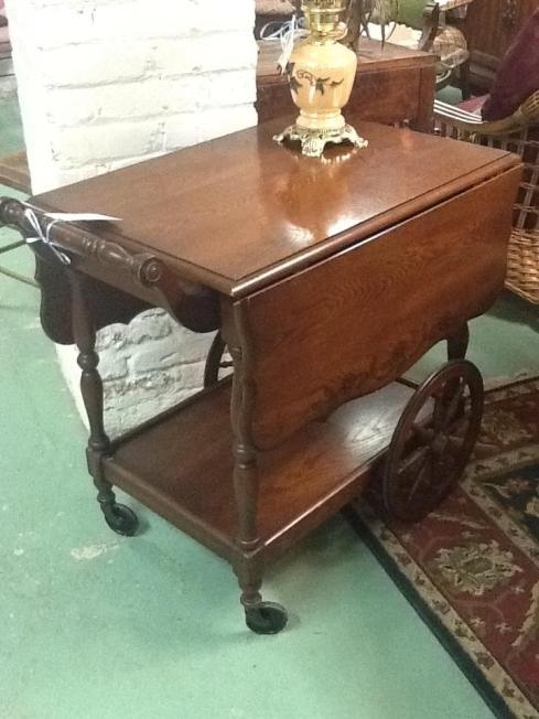 Tea Cart 29 x 22 Beautiful Condition Location: Hamilton $268.40