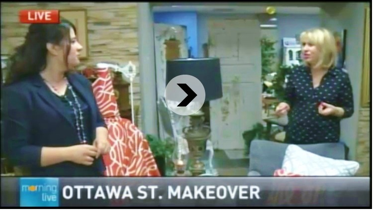 JUST IN CASE YOU MISSED CHCH TV'S MAKEOVER TIPS FROM OTTAWA STREET