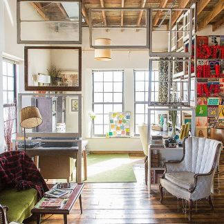 Window Pane Room Dividers Source: Pop Sugar Home
