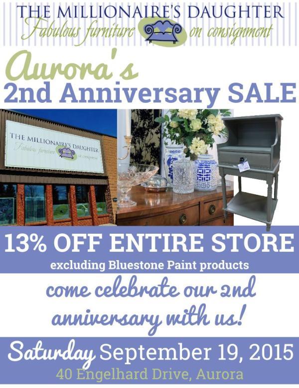 Aurora's 2nd Anniversary Sale