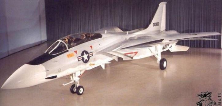 Single Fin F-14