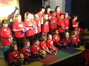 TNCS elementary students performed two Chinese songs at Port Discovery to celebrate Chinese New Year.