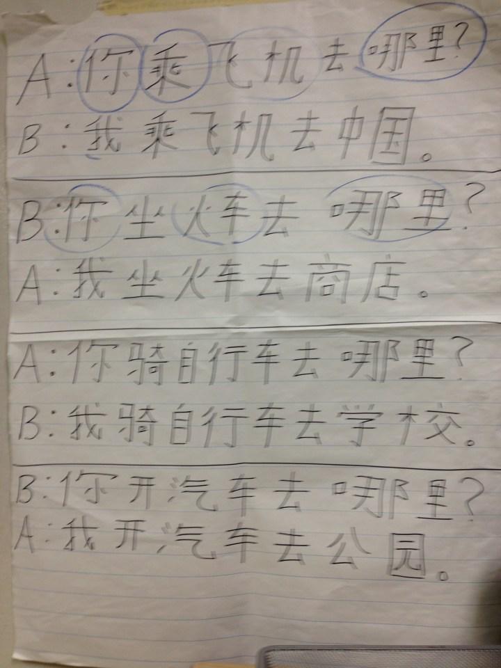 Mandarin-writing-notebook