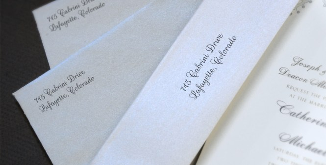Wedding Envelope Printing The Paper