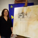 HUMANS OF THE PFISTER | SEPTEMBER 2016 | Back-to-School edition | Former Artist-in-Residence Stephanie Barenz Navigates a New Old Space