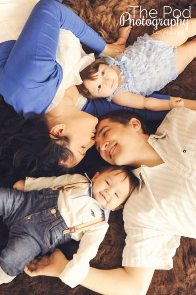 Family-Photography-Marina-Del-Rey-Laying-Kiss-The-Pod-Photography