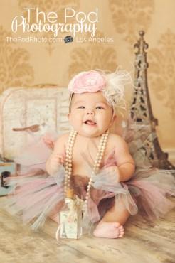 Studio-Paris-Set-Baby-Girl-Tutu-Headband-Best-Photographer-Pacific-Palisades