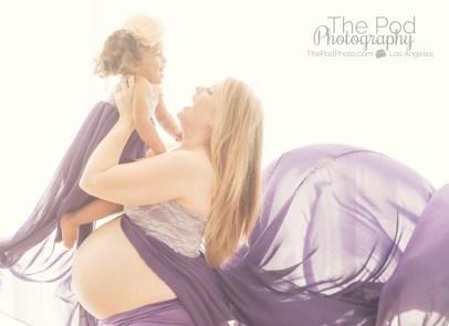 flowing-dress-maternity-photo