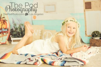 Bohemian-Camper-Set-Love-Peace-Music-Vintage-Beach-Summer-Baby-Kids-Photography-Studio-Manhattan-Beach-Sweet-Girl-Flower-Crown