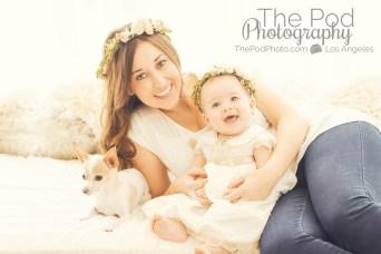 Bohemian-Headbands-Mommy-And-Me-Baby-Girls-Dog-Friendly-Photography-Studio-Mar-Vista