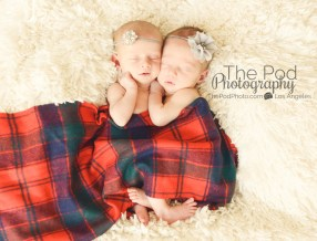 babies-wrapped-in-scottish-scarf