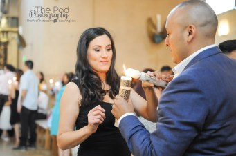 Candle-Lighting-Baptism-Los-Angeles-Event-Photography-Cathedral-Of-Our-Lady-Downtown