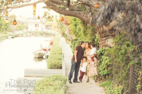 Artistic Venice Canals family shoot!